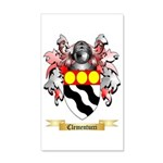 Clementucci 35x21 Wall Decal