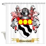 Clementucci Shower Curtain