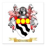 Clements Square Car Magnet 3