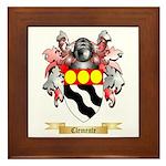 Clemente Framed Tile