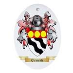 Clemente Ornament (Oval)
