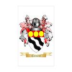 Clement Sticker (Rectangle 10 pk)