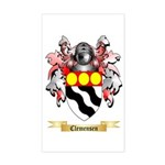 Clemensen Sticker (Rectangle)