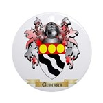 Clemensen Ornament (Round)