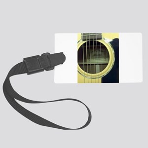 Guitar Sound Hole Luggage Tag