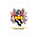 Clemengon Sticker (Rectangle)