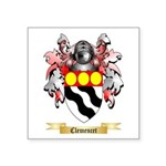 Clemencet Square Sticker 3