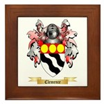Clemence Framed Tile
