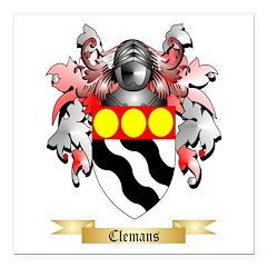 Clemans Square Car Magnet 3