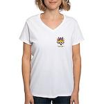 Clemanceau Women's V-Neck T-Shirt