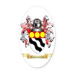 Clemanceau Oval Car Magnet