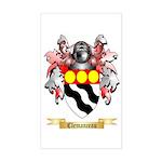 Clemanceau Sticker (Rectangle)