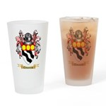 Clemanceau Drinking Glass