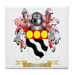 Clemanceau Tile Coaster