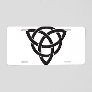 Celtic Knot Design Aluminum License Plate