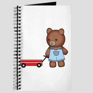 Boy Teddy Bear Journal