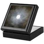 Cloudy Moon Keepsake Box
