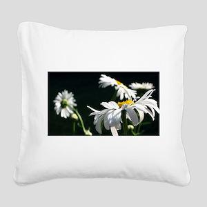 Daisy Dream Square Canvas Pillow