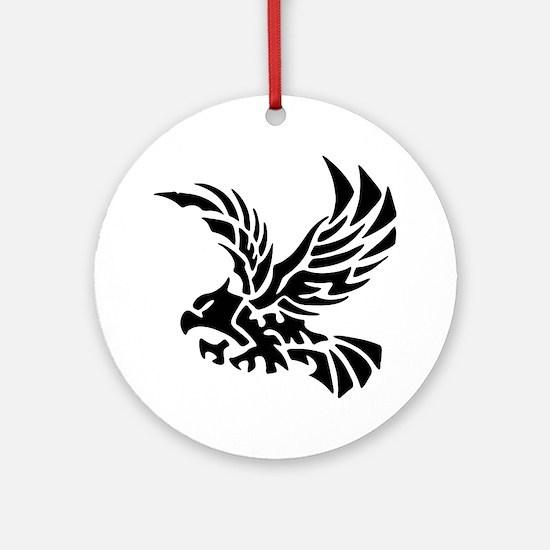 Tribal Eagle Ornament (Round)
