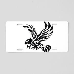 Tribal Eagle Aluminum License Plate