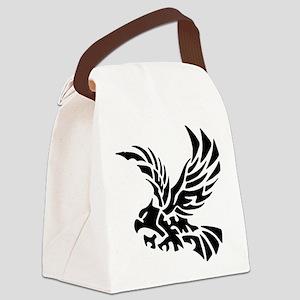 Tribal Eagle Canvas Lunch Bag