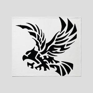 Tribal Eagle Throw Blanket