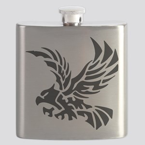 Tribal Eagle Flask