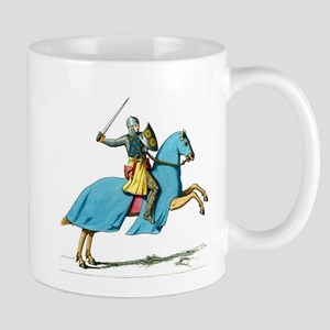 Armored Knight on Cloaked Horse Mug