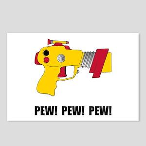 Laser Gun Pew Postcards (Package of 8)