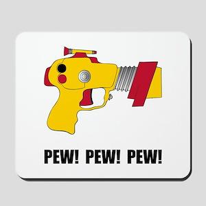 Laser Gun Pew Mousepad