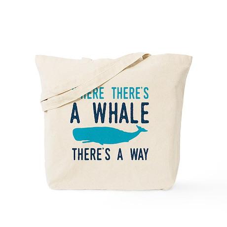 Whale Way Tote Bag