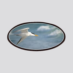 Flight of royal tern Patches