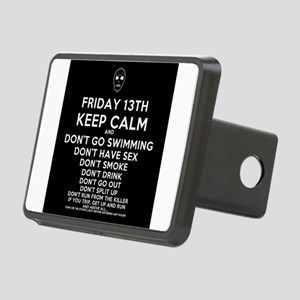 Keep Calm Friday the 13th Hitch Cover