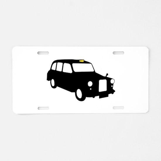 London Taxi Aluminum License Plate