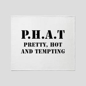 Phat Pretty Throw Blanket