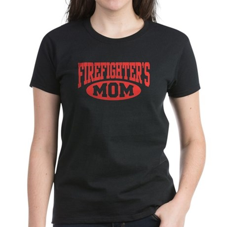 Firefighter's Mom Women's Dark T-Shirt