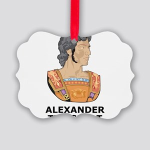 Alexander The Great Picture Ornament