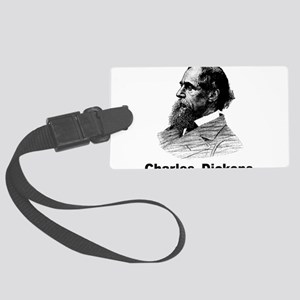 Charles Dickens Large Luggage Tag