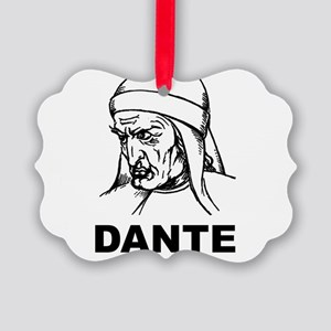Dante Is My Homeboy Picture Ornament