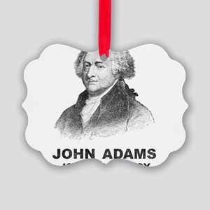John Adams Is My Homeboy Picture Ornament