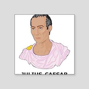 """Julius Caesar Square Sticker 3"""" x 3"""""""