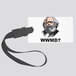 What Would Marx Do Large Luggage Tag