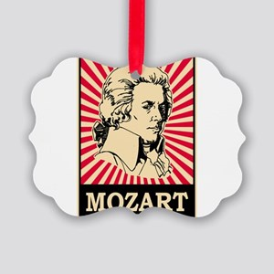 Pop Art Mozart Picture Ornament