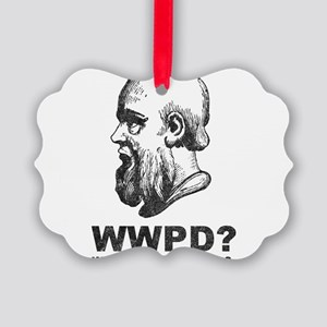 What Would Plato Do? Picture Ornament