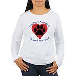 Touch Your Heart Women's Long Sleeve T-Shirt