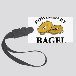 Powered By Bagel Large Luggage Tag