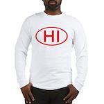 HI Oval - Hawaii Long Sleeve T-Shirt