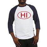 HI Oval - Hawaii Baseball Jersey