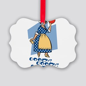 Goody Goody Gouda Picture Ornament
