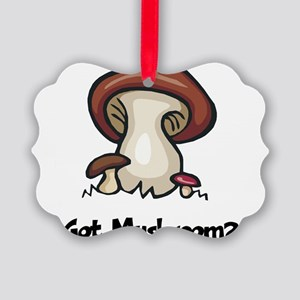 Got Mushroom Picture Ornament